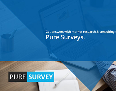 Pure Survey Power Point Presentation Template