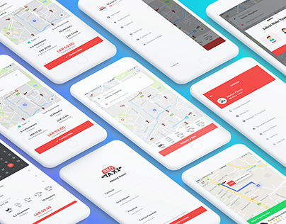 RED Taxi - Mobile Application