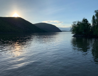 Sunset on Hudson