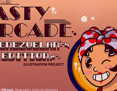 Tasty Arcade Venezuelan Edition // Illustration Project