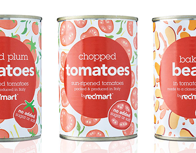 Redmart Canned Packaging
