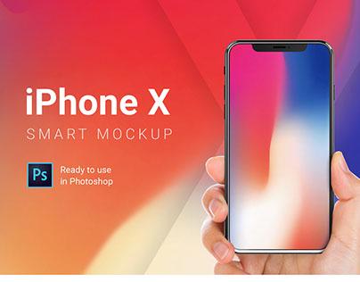 iPhone X Smart Mockup