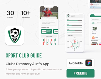 Free - Sport Clubs Guide App - Clubs Directory & Info