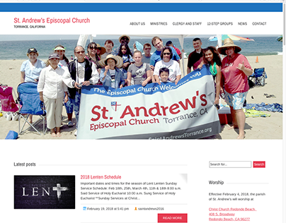 Saint Andrew's Episcopal Church - Identity Pieces