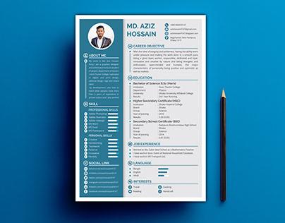 Professional Creative CV/ Resume Design