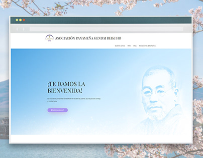Gendai Reiki Ho Association in Panama | Web Design