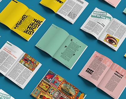 Phillumeny : Magazine layout design