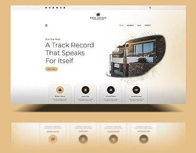 Real Estate Website Design | UI Design Property