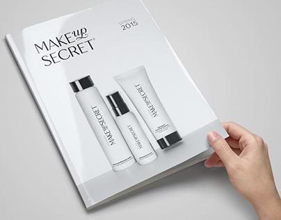 Make Up Secret. Rebranding.