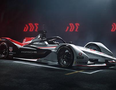Porsche x TAGHeuer // 99X Electric Formula E