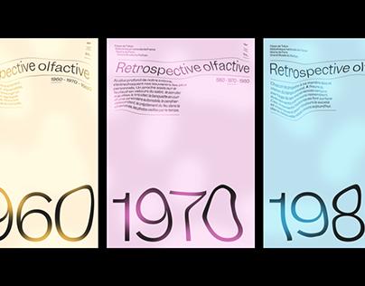 1960 - 1970 - 1980, Rétrospective olfactive