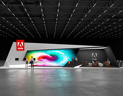 * Adobe * Exhibition stand *