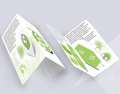 Free Photoshop Mockup - BiFold Brochure