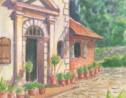 Watercolor landscapes 2020