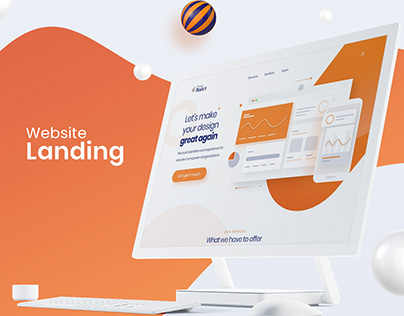 Design Rock It Landing Page