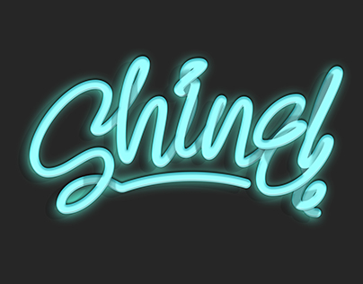 Digital Neon and Liquid Lettering