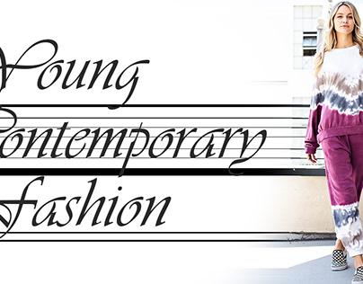 fashion banner design Young contemporary fashion