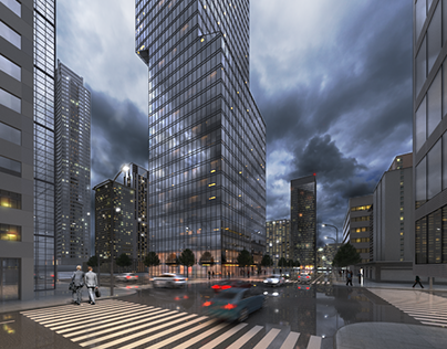 skyscraper concept