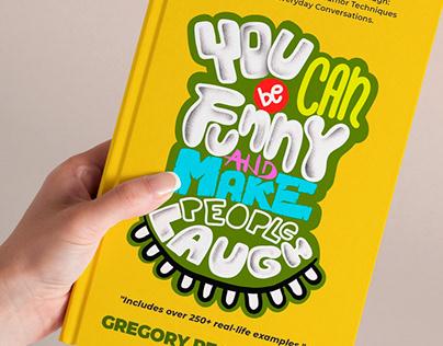 Handwritten book cover title