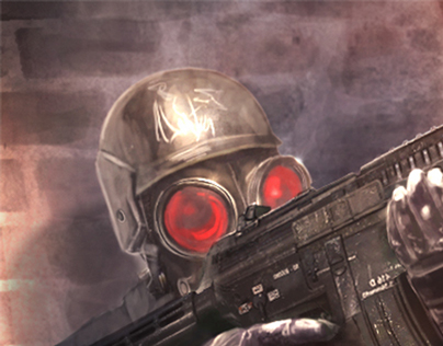 Hunk (Resident Evil Fanart)