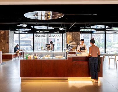 Seesaw Coffee Huarun - TAKESHI HOSAKA architects
