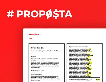 #PROPØ$TA website