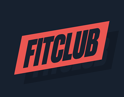 Fit Club Gym / Visual Brand Identity