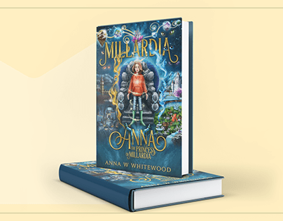 "Book cover design forfor ""Millardia"""
