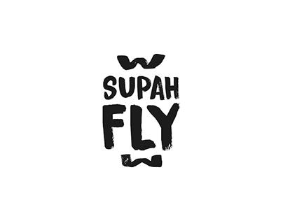 Supahfly | Logotype, Social Media Graphic, Artwork