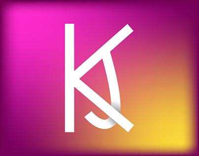 KJ Monogram Logo