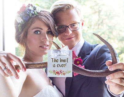 """Styled Wedding Shoot """"The hunt is over!"""" 2016"""