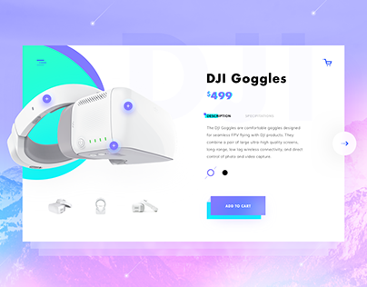Goggles Product Page