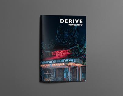 DERIVE Wanderer Magazine #7
