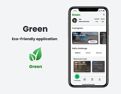 Green (Eco-Friendly application)