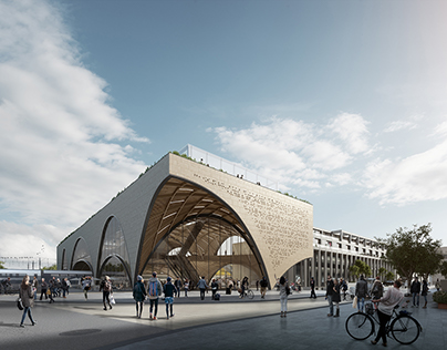 Oxford Station Design Competition winner