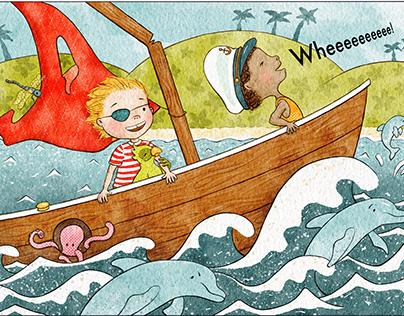 """""""Let's build a boat"""" poem"""