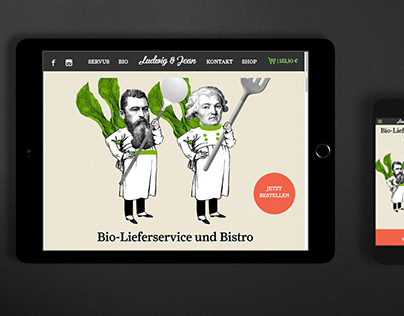 Ludwig und Jean – Organic Delivery Service