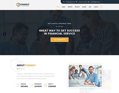 Financy - Consulting Business