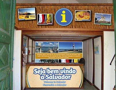 POSTOS DE INFORMAÇÕES TURÍSTICAS - SALVADOR - BA. PMS