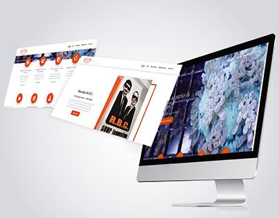 Sviluppo Website azienda di progettazione acquari