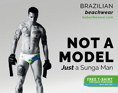 brazilian Beachwear Advertising