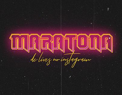 Maratona de Lives no Instagram // Lucas Gabriel Design