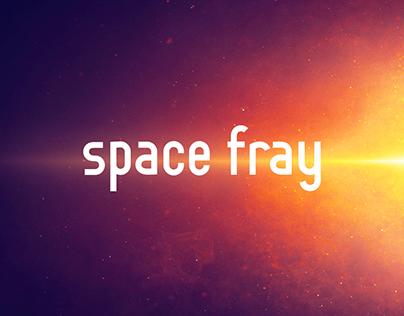 Space Fray - futuristic free font
