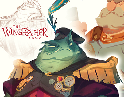 Wingfeather Saga Visual Development