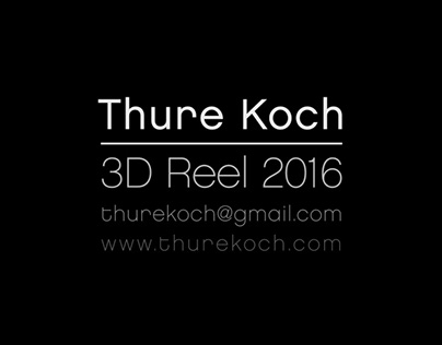 3D Reel 2016