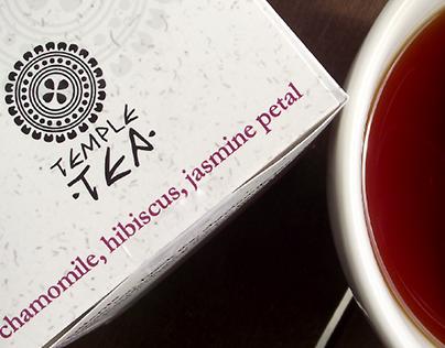Temple Tea packaging