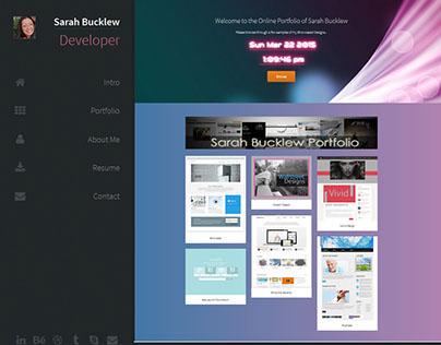Sarah Bucklew Online Portfolio