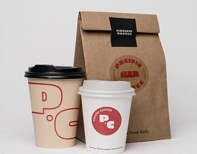 Pacific Coffee Brand Identity Design