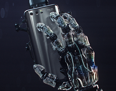 HUAWEI Honor 9 Robotic Hand