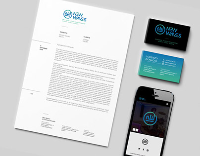 NEW WAVES AGENCY - Branding / Website